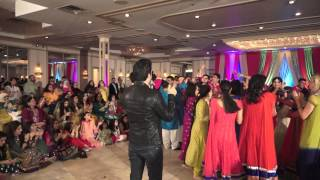 Aliena & Ali Mehndi .live Performance By  Desi Thumka
