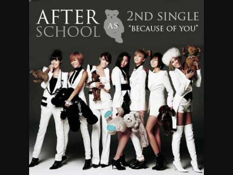 Because of You - After School (✎Male Version)