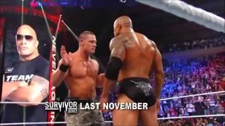 The Rock Vs John Cena Wrestlemania 28 promo