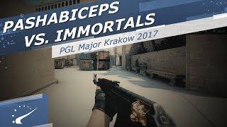 pashaBiceps vs. Immortals - PGL Major Krakow 2017