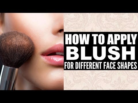 Xxx Mp4 Blusher Makeup Tutorials How To Apply Blush On Cheeks According To Your Face Shape For Beginners 3gp Sex