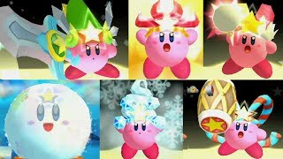 Kirby's Return to Dream Land - All Super Abilities