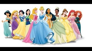 All Disney Princess ... With Names, Costumes and Shoes