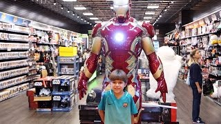 Shopping - Toys, Big Iron Man and More Fun
