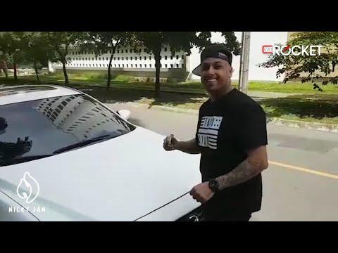 Asi fué la campaña publicitaria de El Amante en Medellin - Nicky Jam