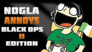 NOGLA ANNOYS THROWBACK! - Black Ops 2 Funny Moments