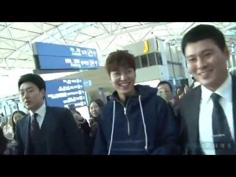 Lee Minho (이민호) 20151028 Incheon airport depart to Guangzhou