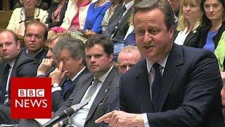 Cameron to Corbyn: