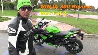 2013 Kawasaki NINJA 300 Special Edition Starter Bike - REVIEW & Comparison Part 1 of 2