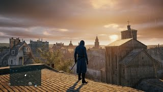 Assassin's Creed Unity | 5 Minutes of Free Roam Gameplay | Open World Parkour in Paris (PS4) [HD]