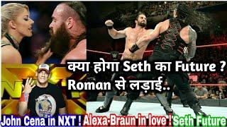 New Match in Raw 25th june 2018 ! Seth Rollins future plans ! John Cena in NXT ! Braun-Alexa love
