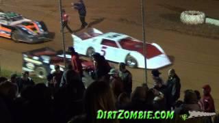 Big Fight at Carolina Speedway
