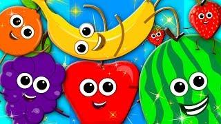 learn colors fruits song nursery rhymes learning colors preschool kids tv S03 EP110
