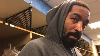 JR Smith said new players in Cavs' huddle were ready for the moment in Game 4