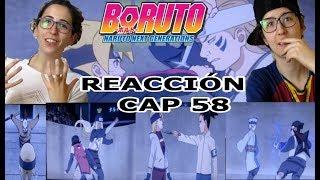 BORUTO REACTION CAP 58-EMPIEZAN LOS COMBATES INDIVIDUALES