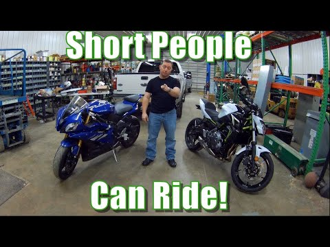 Short and want a motorcycle Insight from an actual short rider