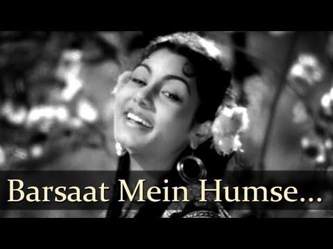 Barsaat - Barsaat Mein Humse Mile Tum - Lata Mangeshkar