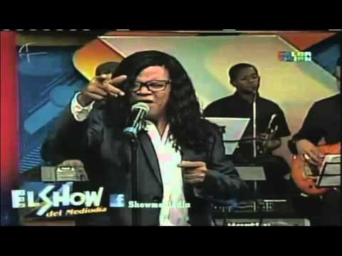 El Zafiro en vivo en show del medio dias Mi cantar
