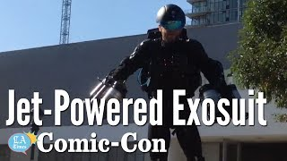 Real life Iron Man Flying Around In A Jet-Powered Suit: Comic-Con   Los Angeles Times