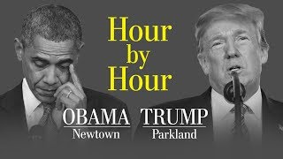 Opinion   An hour-by-hour comparison of Trump and Obama responding to school shootings