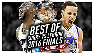 Best of LeBron James vs Stephen Curry EPIC BATTLE Highlights from 2016 Finals!