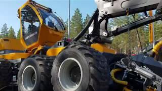 New Sampo HR86 8WD harvester