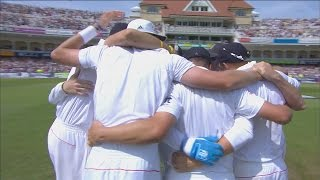 Ashes 2013 highlights - England win at Trent Bridge by 14 runs
