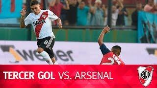 Gol de Juan Fernando Quintero vs. Arsenal