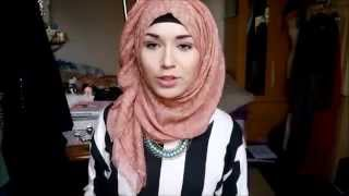 Hijab Tutorial l Everyday style normal & Twist back