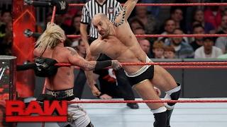 Enzo Amore vs. Cesaro: Raw, Feb. 13, 2017
