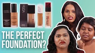 Desi Girls Try To Find The Perfect Foundation   BuzzFeed India