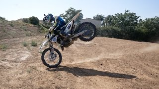 Ripping Husqvarna 125 Wide F**king Open - RAW footage - ALSO FOR SALE