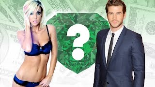 WHO'S RICHER? - Jenna Marbles or Liam Hemsworth? - Net Worth Revealed!