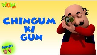 Chingum Ki Gun - Motu Patlu in Hindi - 3D Animation Cartoon - As on Nickelodeon