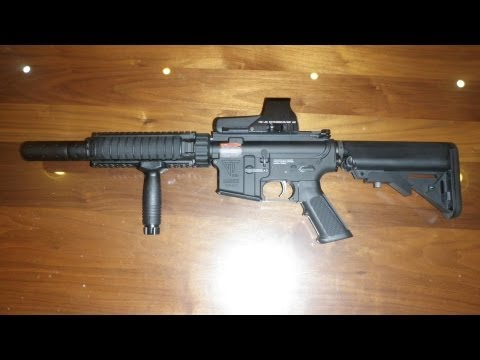 G&G M4 CQB-S Review Airsoft