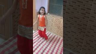 Cute Kid Disha dance on Sapna Song