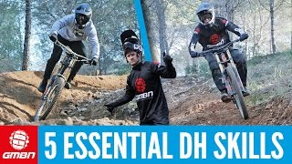 5 Essential Downhill Mountain Bike Skills