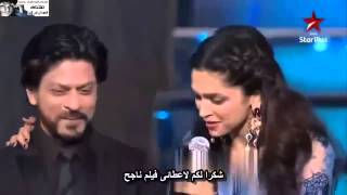 Shah Rukh Khan & Salman in Star Guild Awards 2014