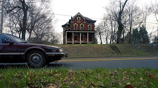Beautiful Abandoned House in Ohio - Drone Footage