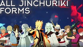 All Jinchuriki Forms Moveset+Combo+Awakening[Showcase] Naruto Shippuden Ultimate Ninja Storm 4