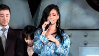 Battleship Event: Rihanna, Brooklyn Decker, Taylor Kitsch (Batalla Naval)