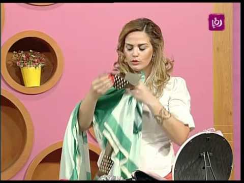 فاي سابا تتحدث عن استخدام الشالات بالازياء Roya