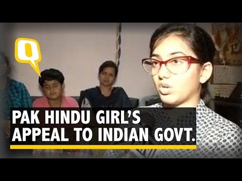 The Quint: Pak Hindu Girl Struggles to Appear for Indian Medical Entrance