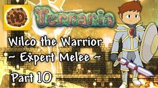 Terraria 1.3 Expert Melee Part 10: Destroyer & Ankh Farm! (1.3 warrior playthrough)