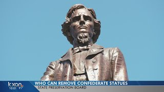 Top 3 state officials hold keys to removing Confederate statues