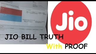 images WITH PROOF Reliance JIO Bill FAKE Or REAL JIO 4G BIll Reality RS 27718 Jio Bill