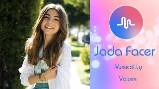 Jada Facer Musically Compilation January 2017