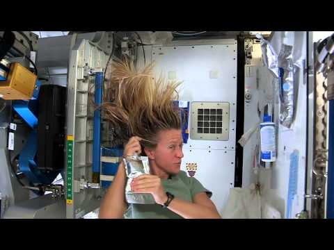 Xxx Mp4 Karen Nyberg Shows How You Wash Hair In Space 3gp Sex