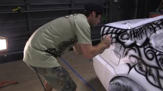 Plasti Dip Art Car