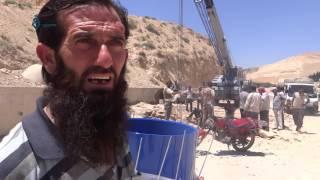 أحد القادة الميدانيين في وادي بردى يوجه رسالة إلى النظام حول أمن مياه المنطقة